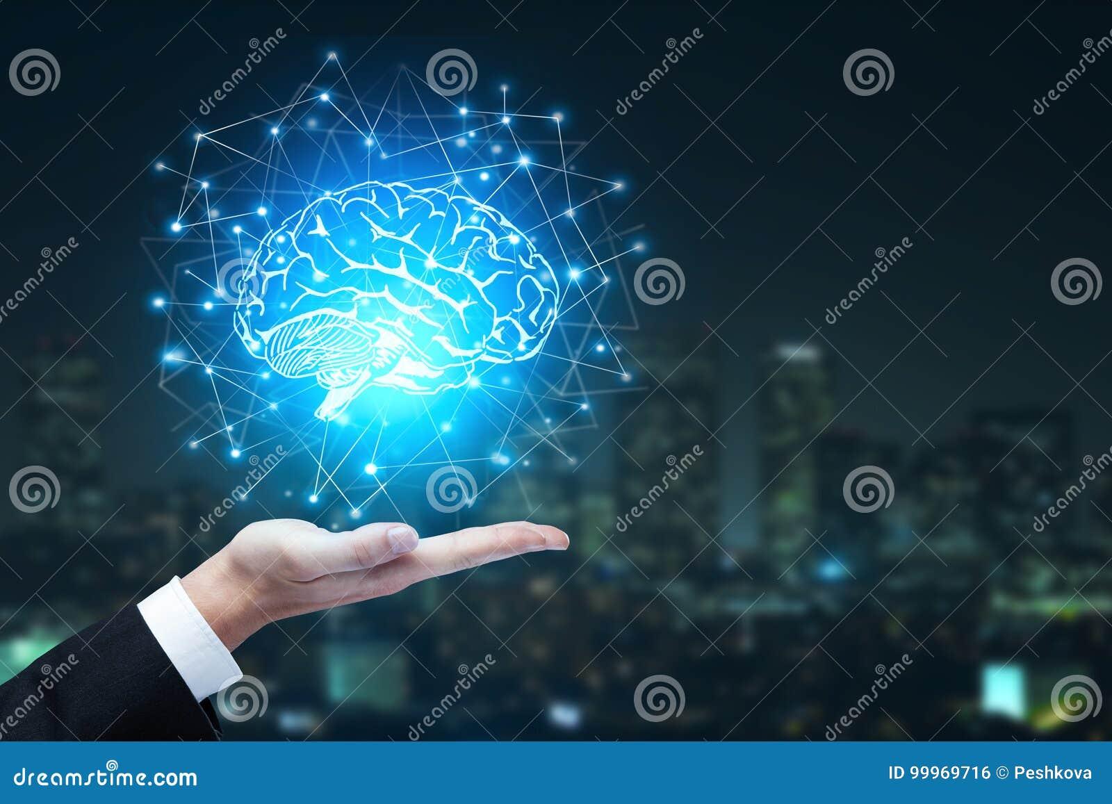 Konzept der künstlichen Intelligenz und der Innovation