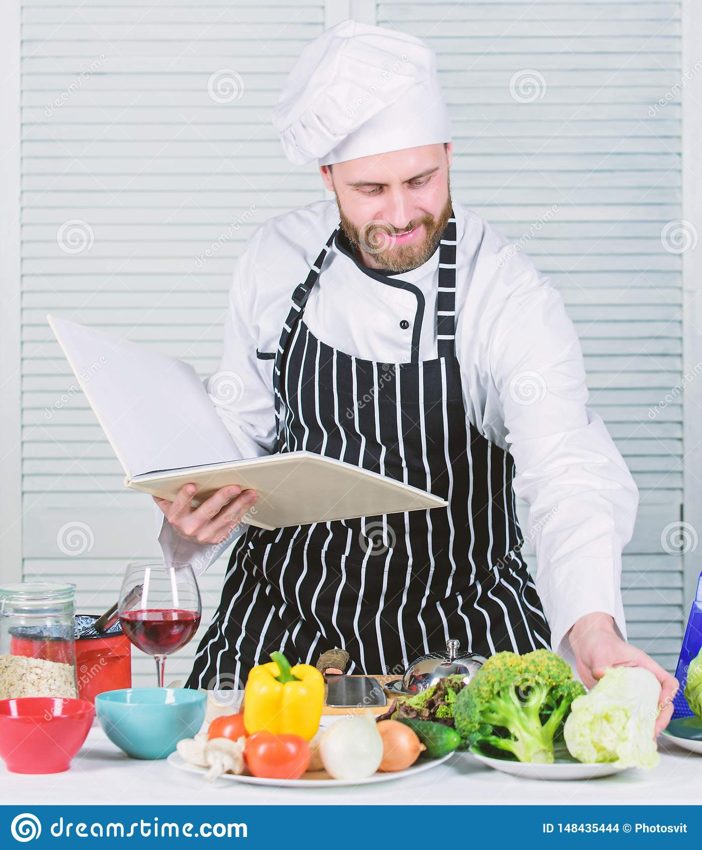 Konzept der kulinarischen K?nste r r t o