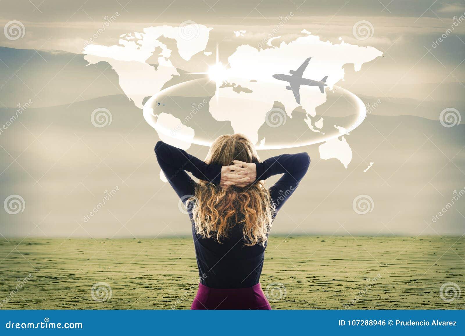 Konzept der Reise