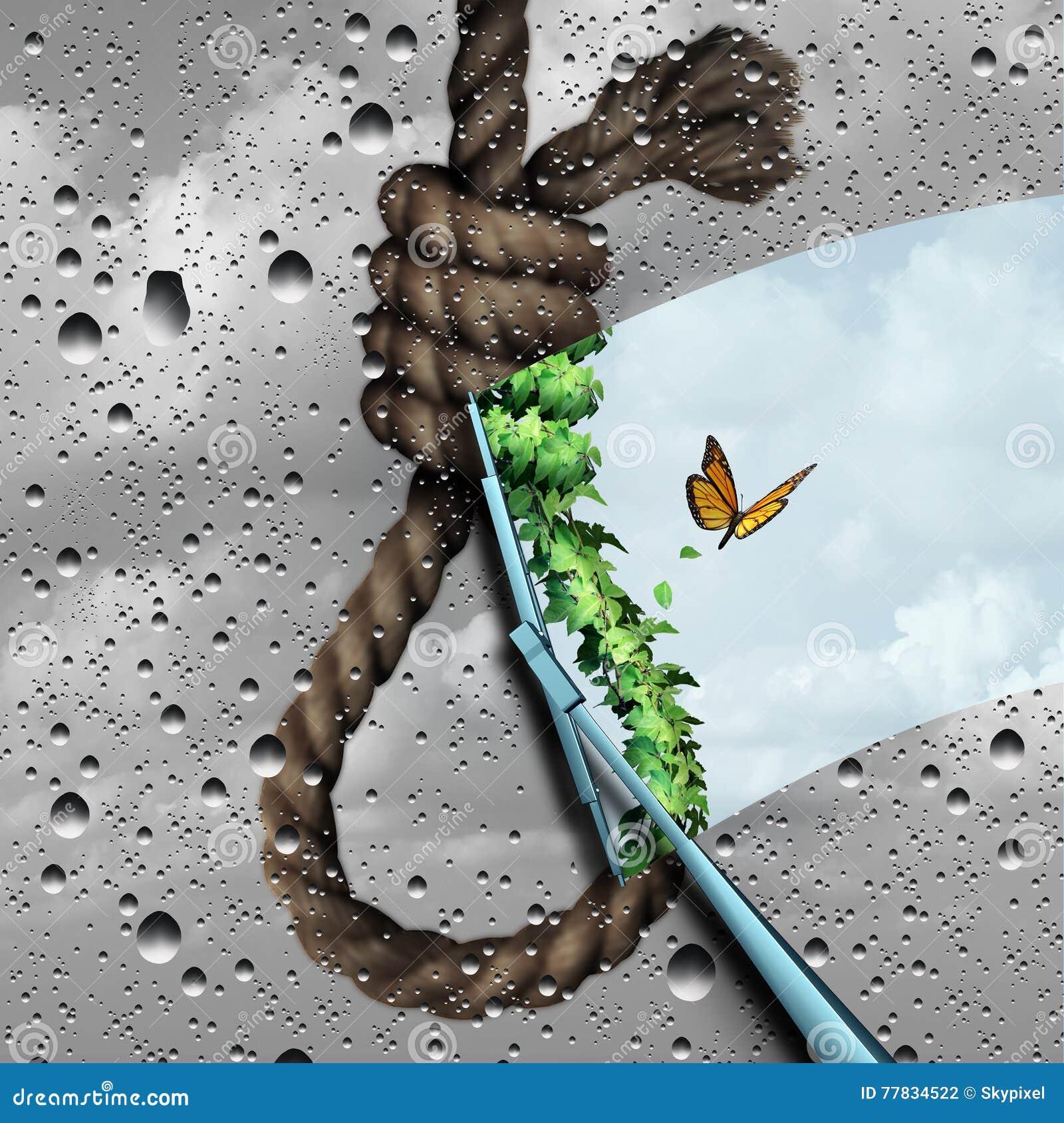 Konzept der Selbstmord-Verhinderung