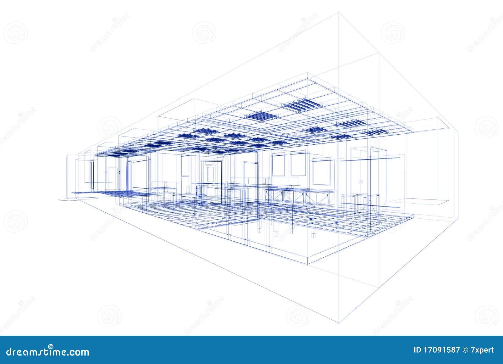 Konzept des kleinen Büros
