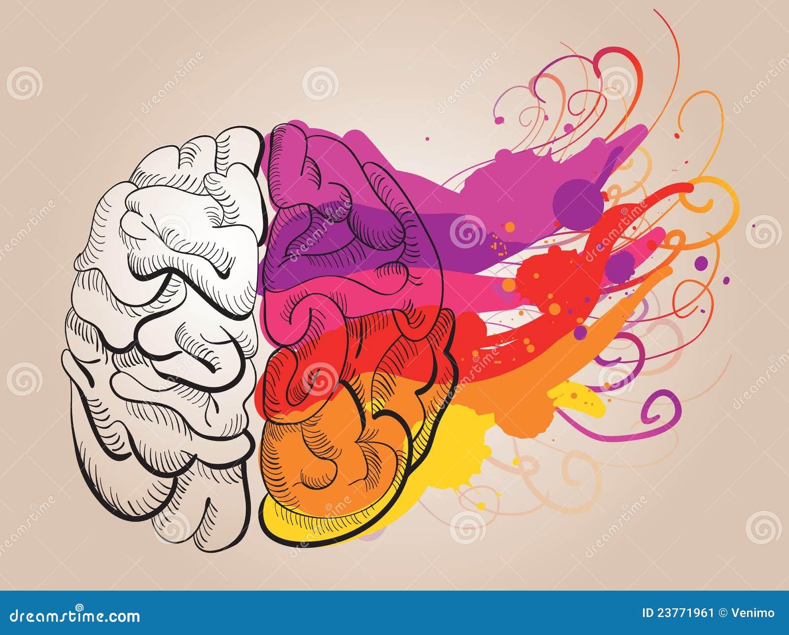 Konzept - Kreativität und Gehirn