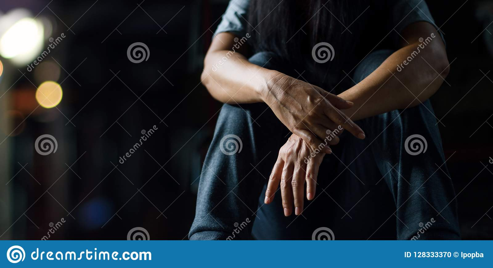 Konzept PTSD-psychischer Gesundheit Beitrags-traumatisches Belastungssyndrom