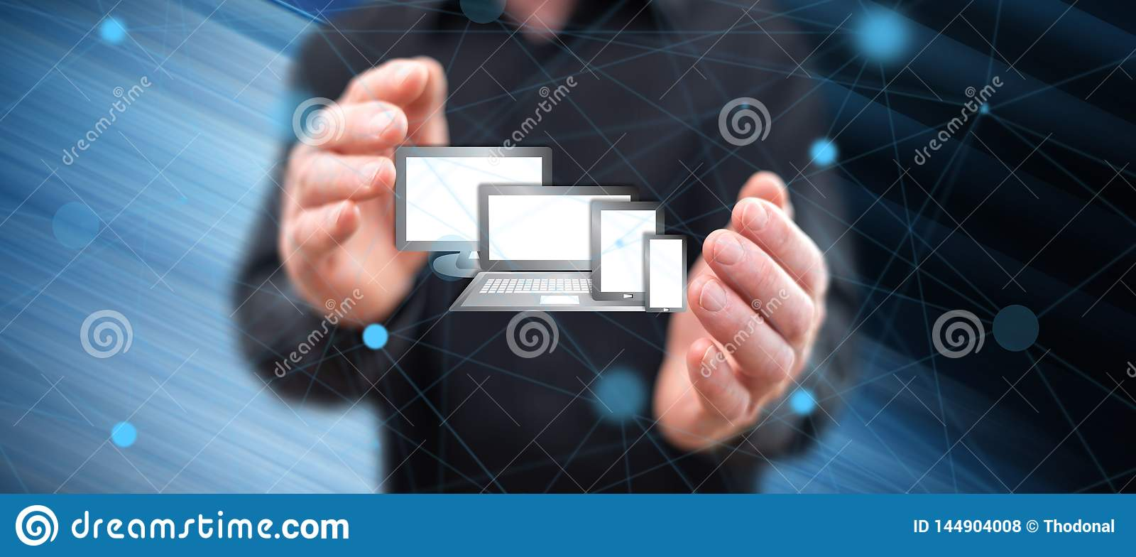Konzept von Technologieger?ten