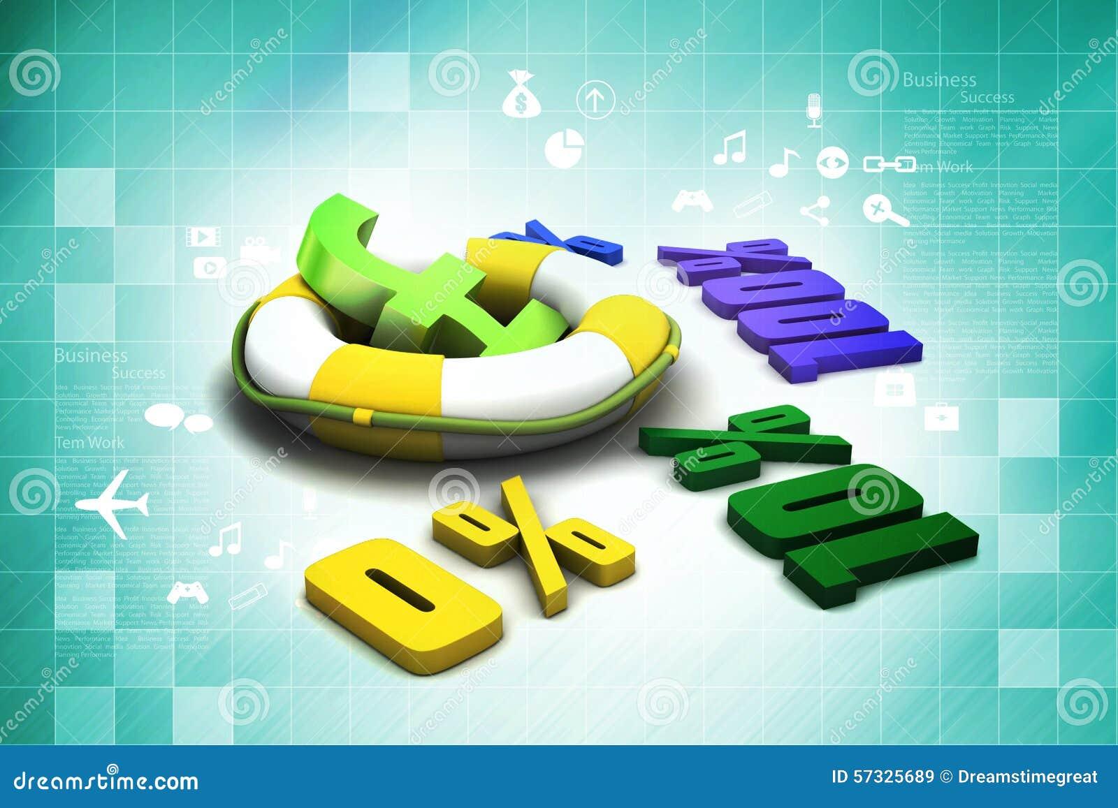 Konzeptfinanzprozente