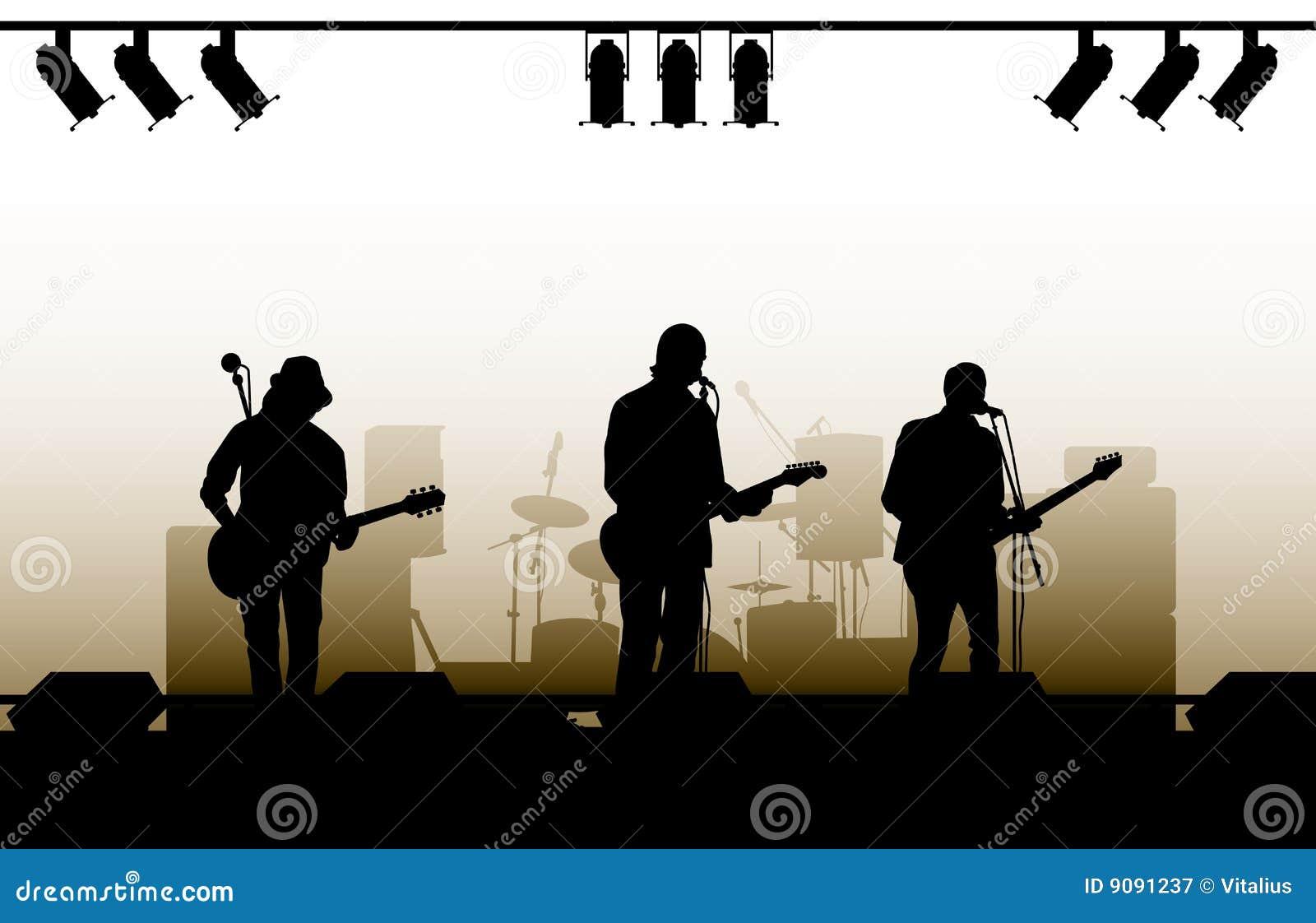 Konzert-Hintergrund
