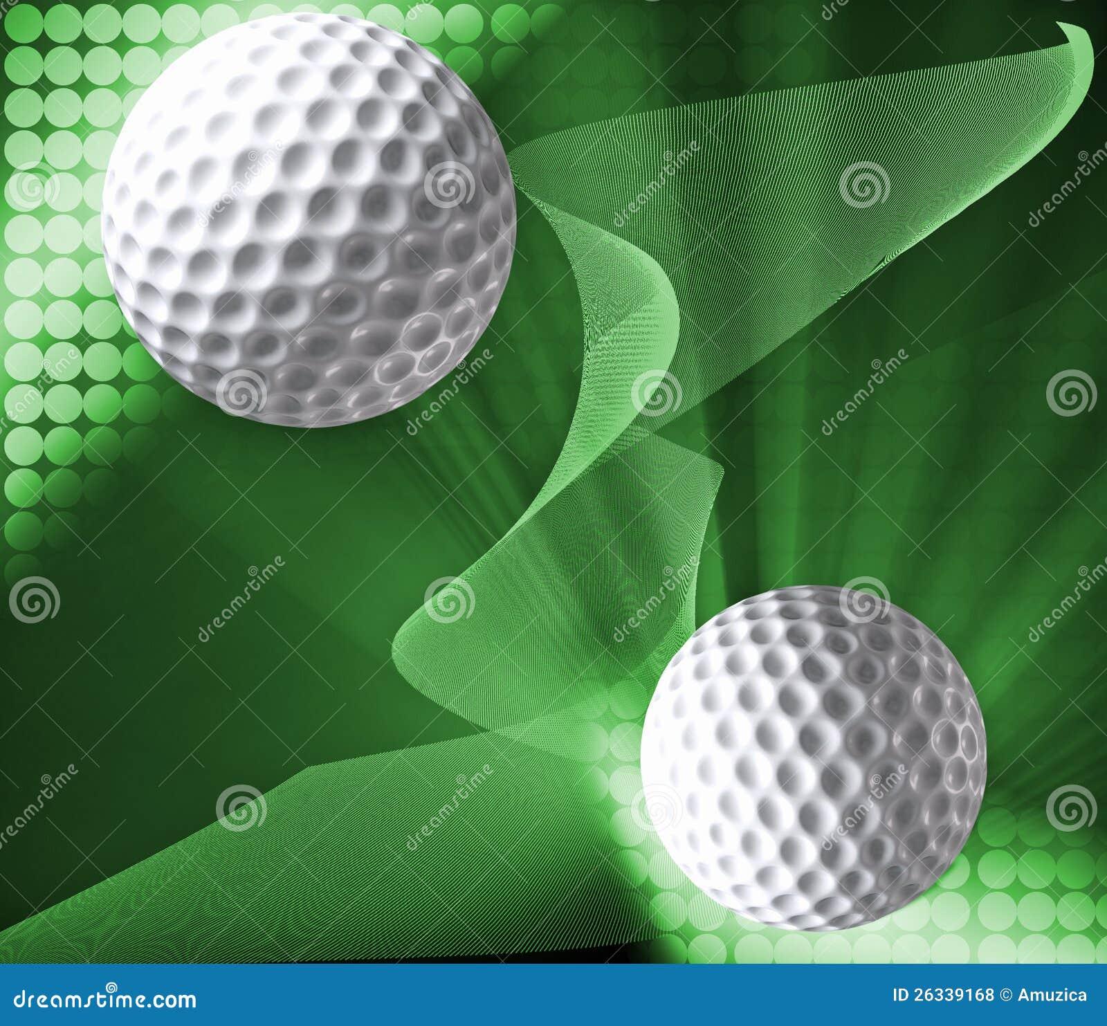 Konzipierter Golfhintergrund