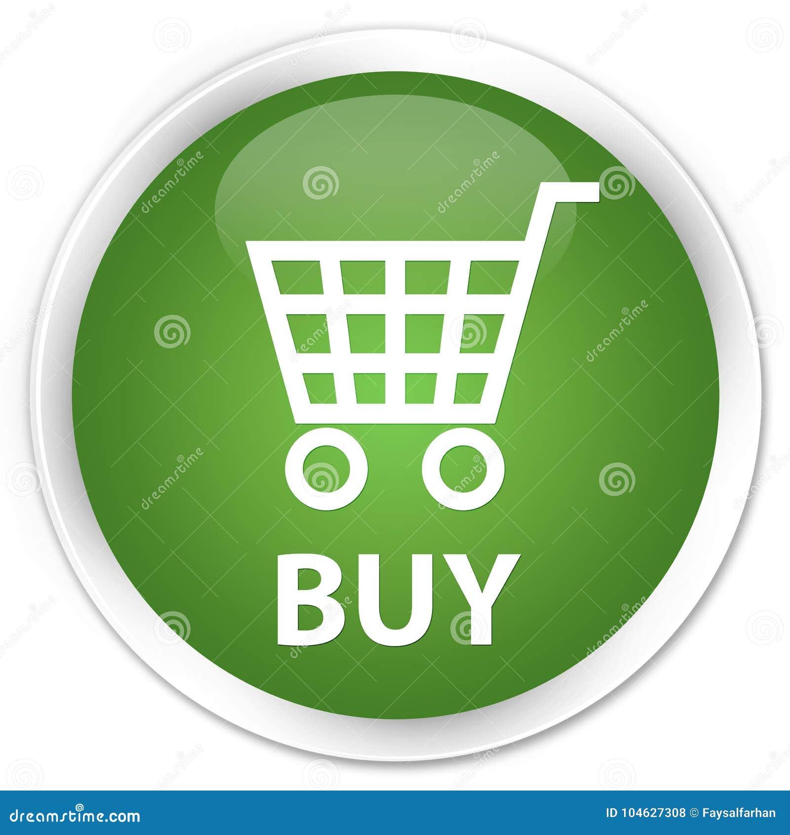 Download Koop Premie Zachte Groene Ronde Knoop Stock Illustratie - Illustratie bestaande uit groen, supermarkt: 104627308