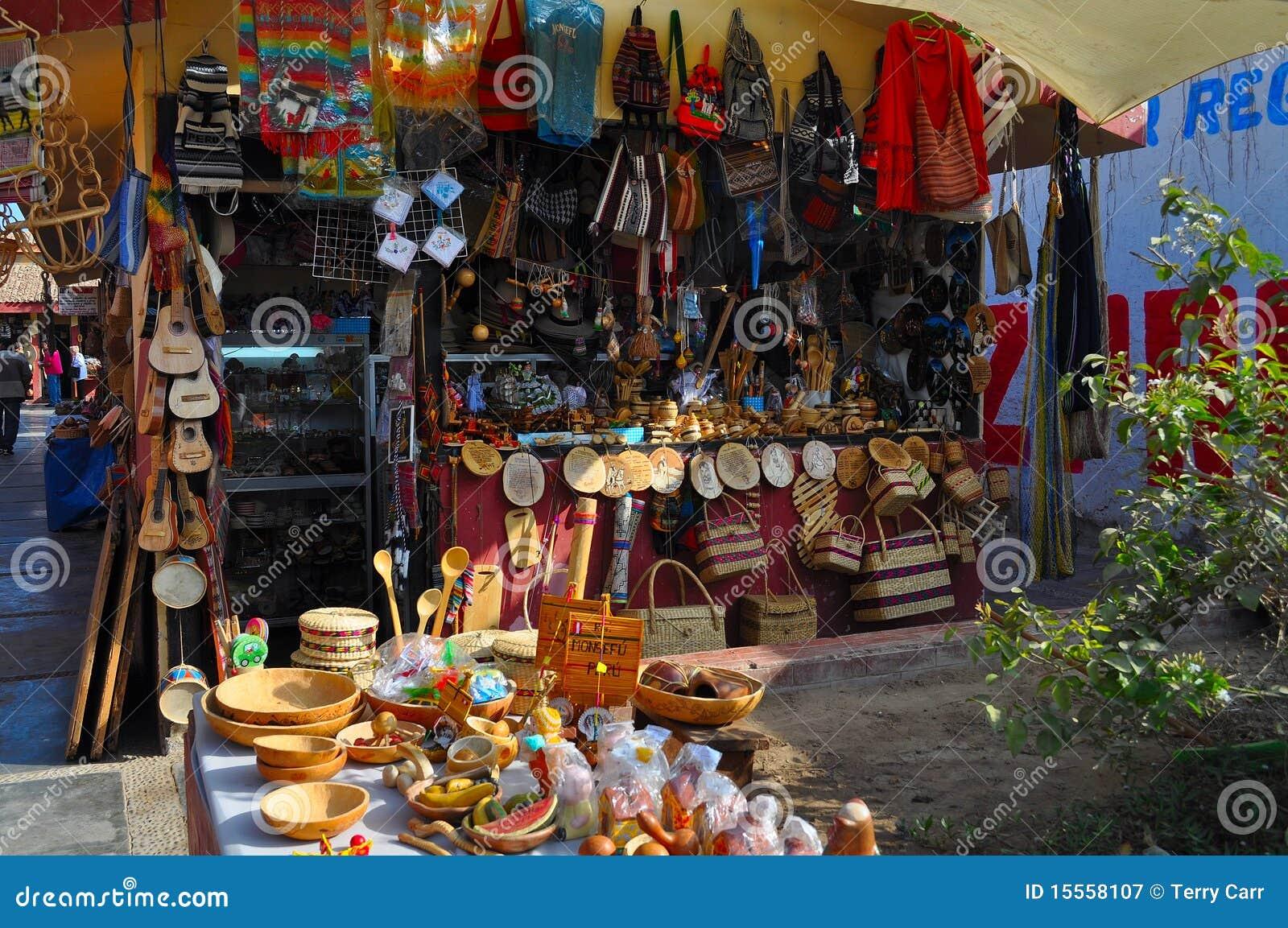 Koopwaar in Peruviaanse winkel
