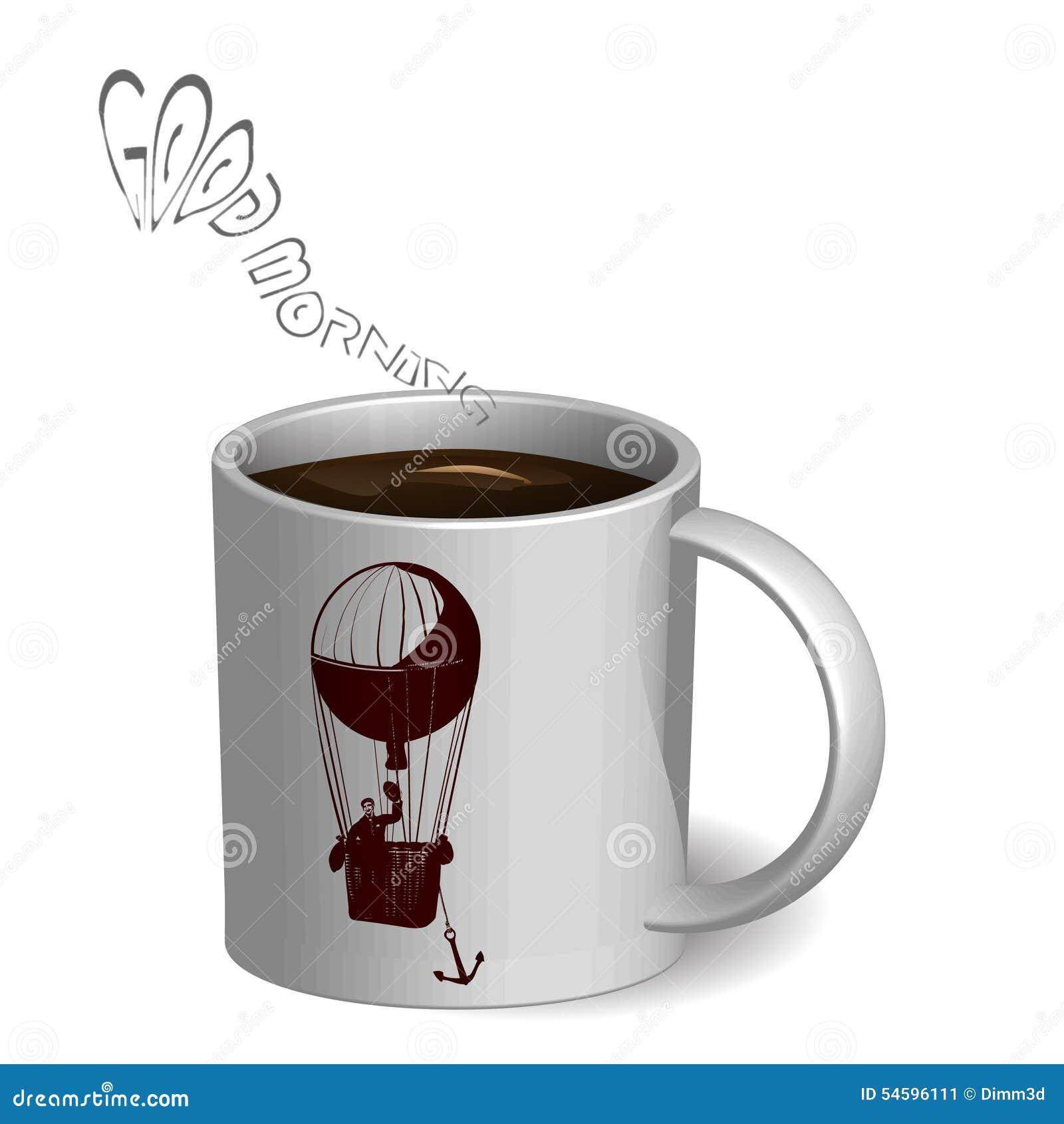 Kop van coffe met impuls
