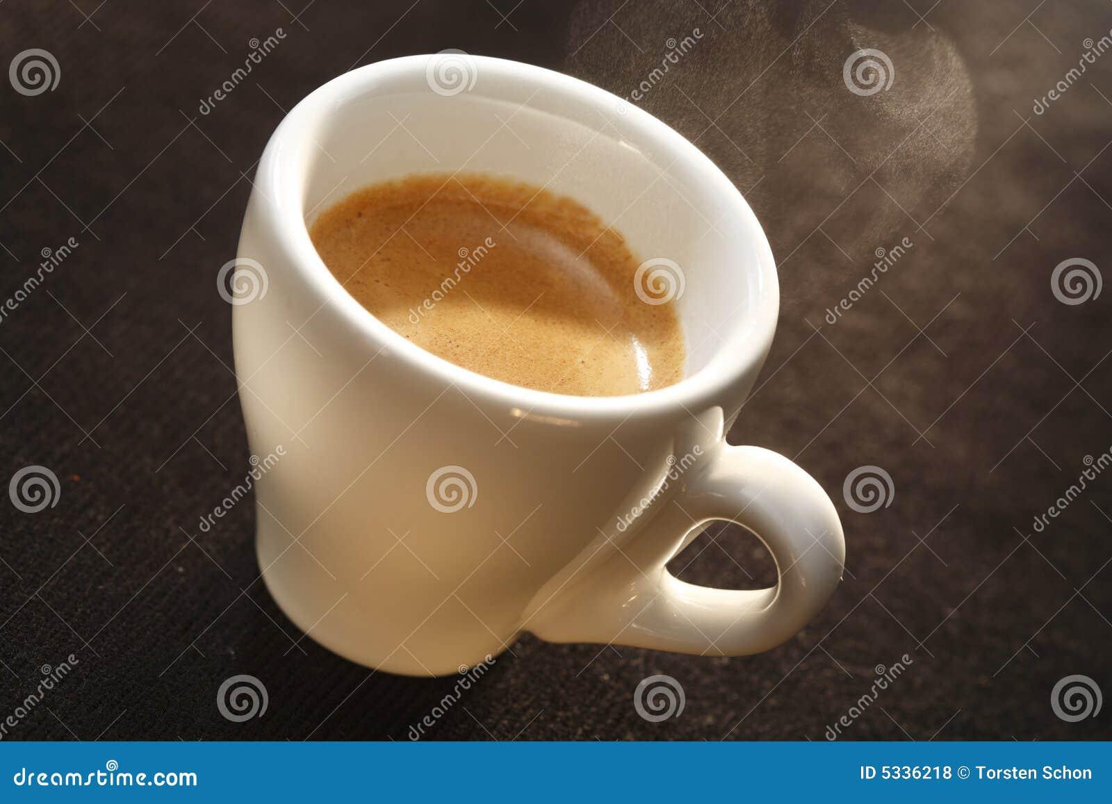 Kop van espresso