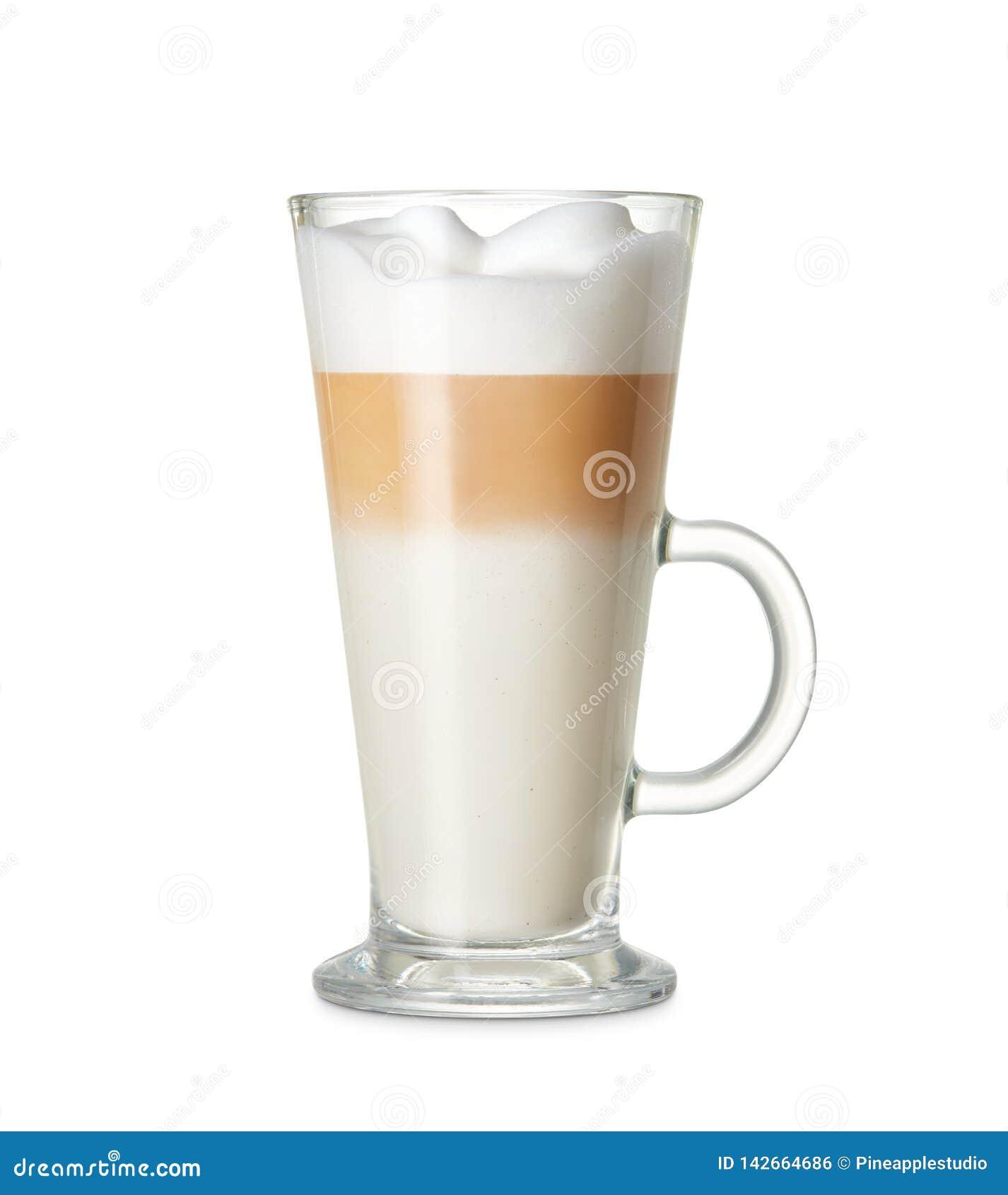 Kop van lattemacchiato