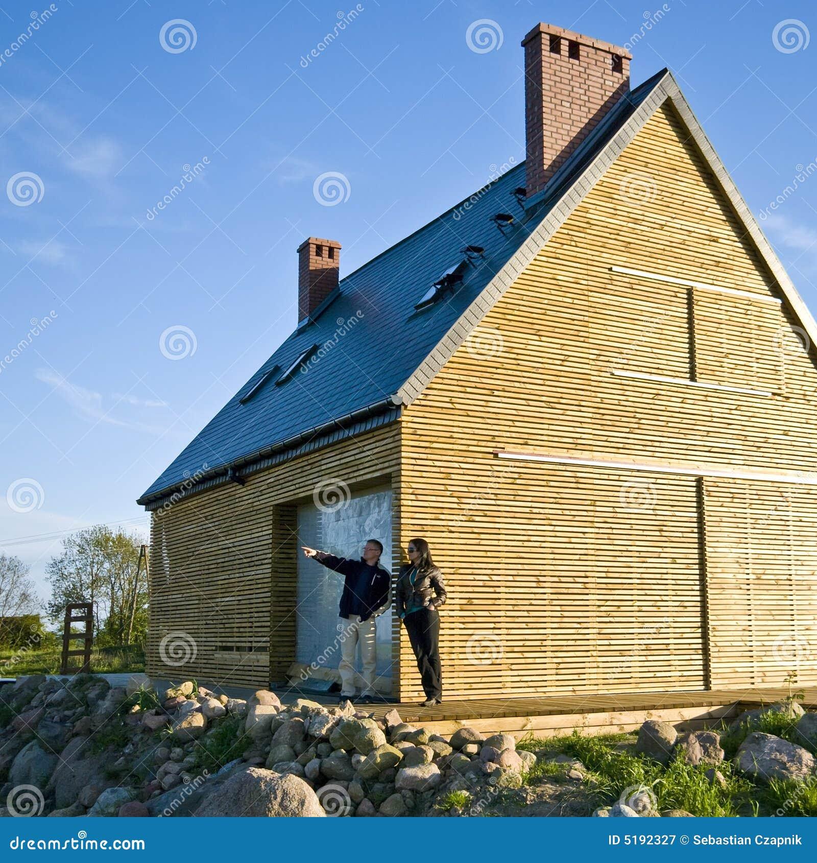 Kopend nieuw huis