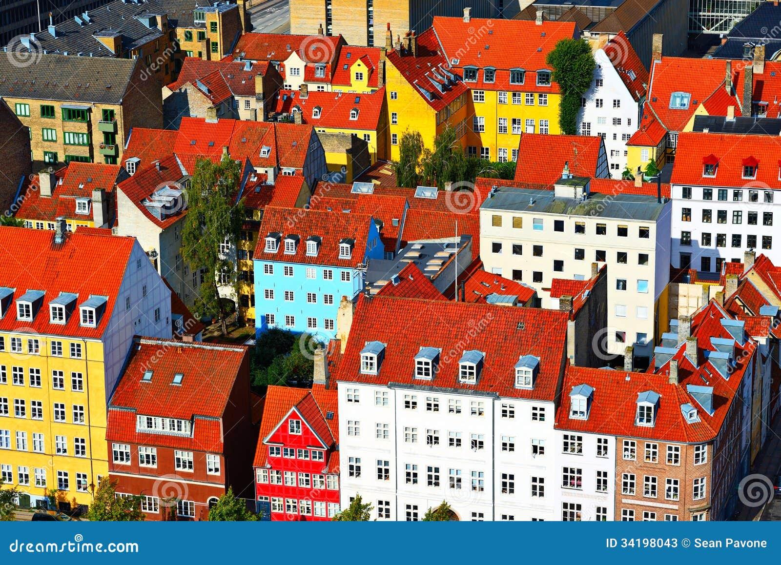 Kopenhaga budynki