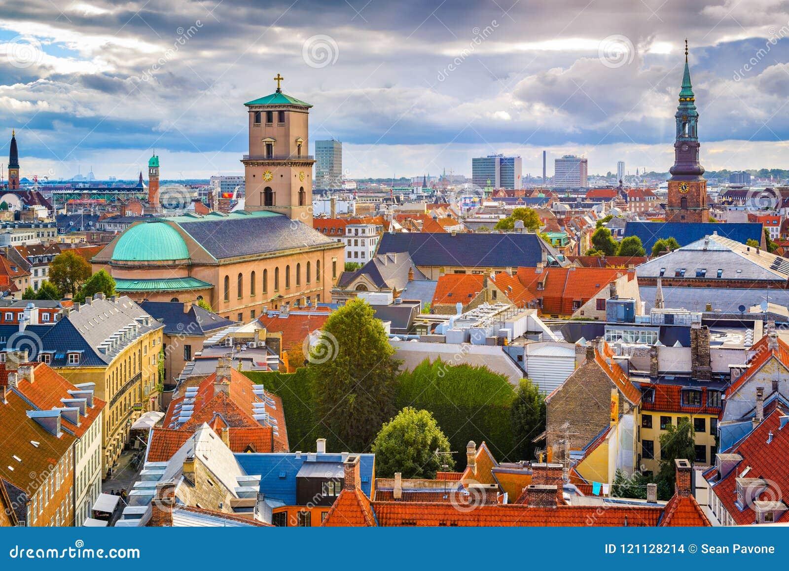 Kopenhaga, Dani linia horyzontu