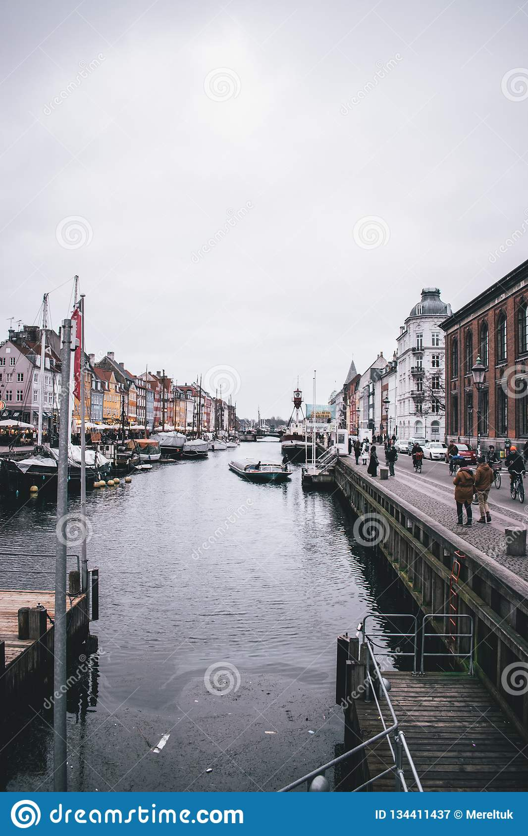 Kopenhaga, Dani wintertime w Styczniu 2018