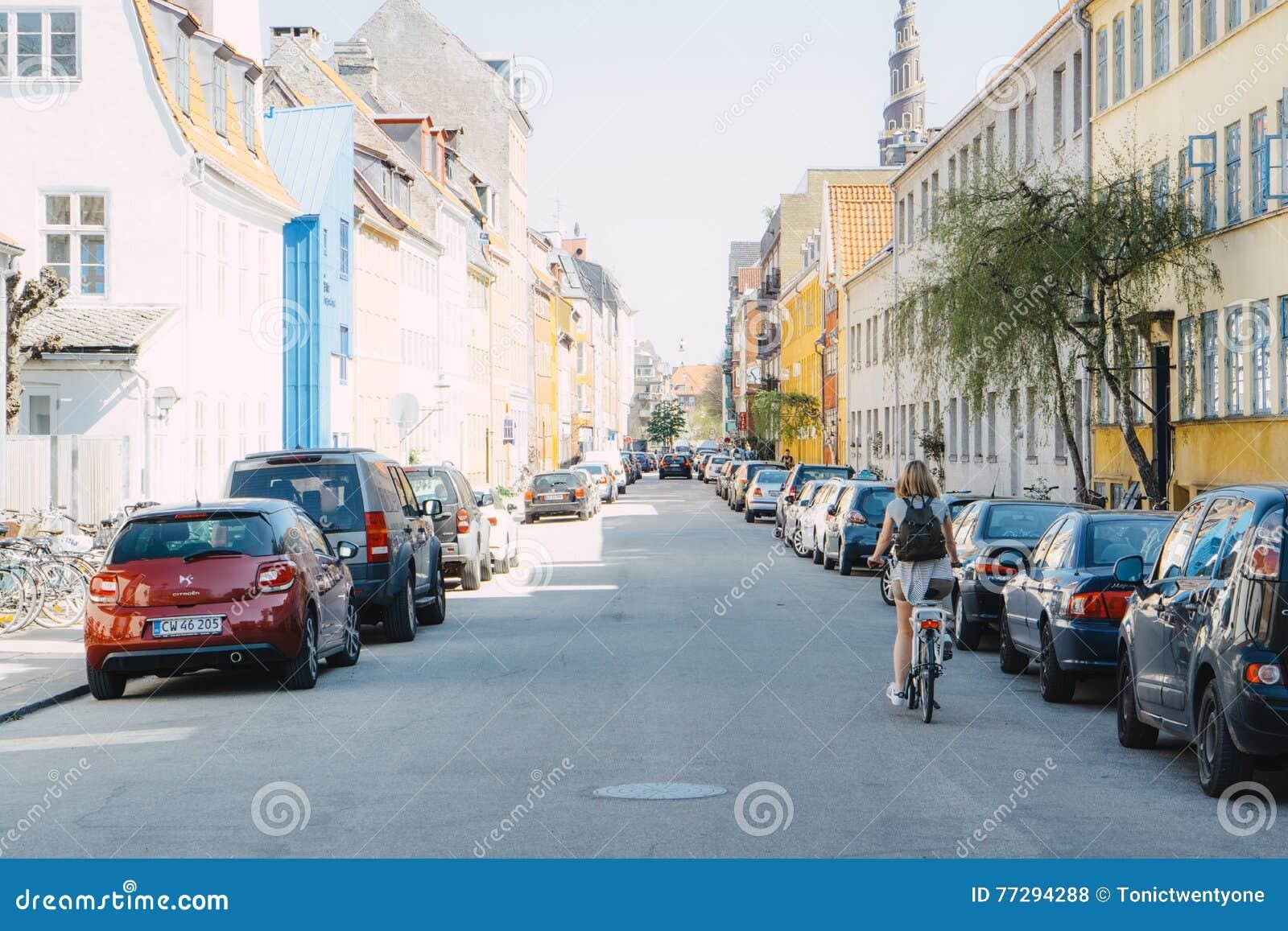 Kopenhaga ulicy