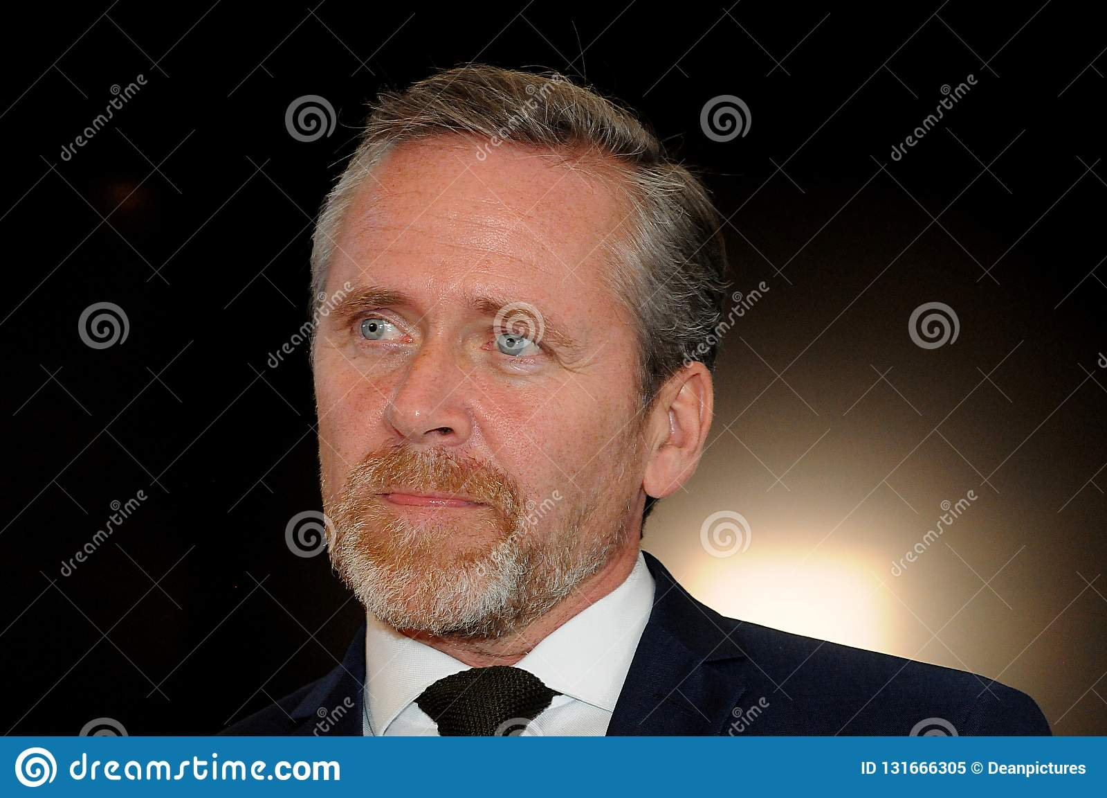 Kopenhagen/Dänemark 15 November 2018 Dänemarks drei Minister dänischer Minister Anders Samuelsens für Außenminister für