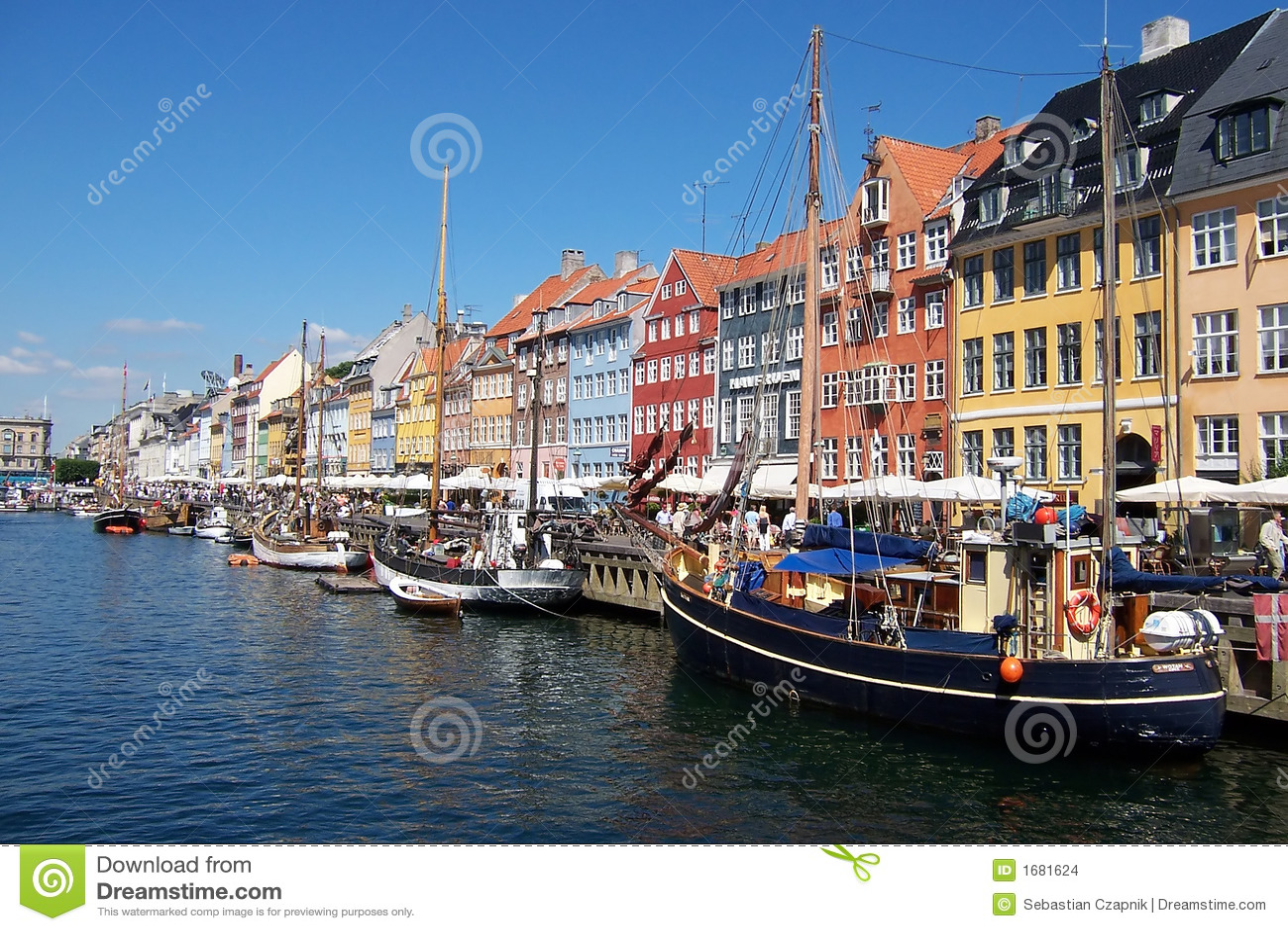 Kopenhagen-Kanal, Boote.