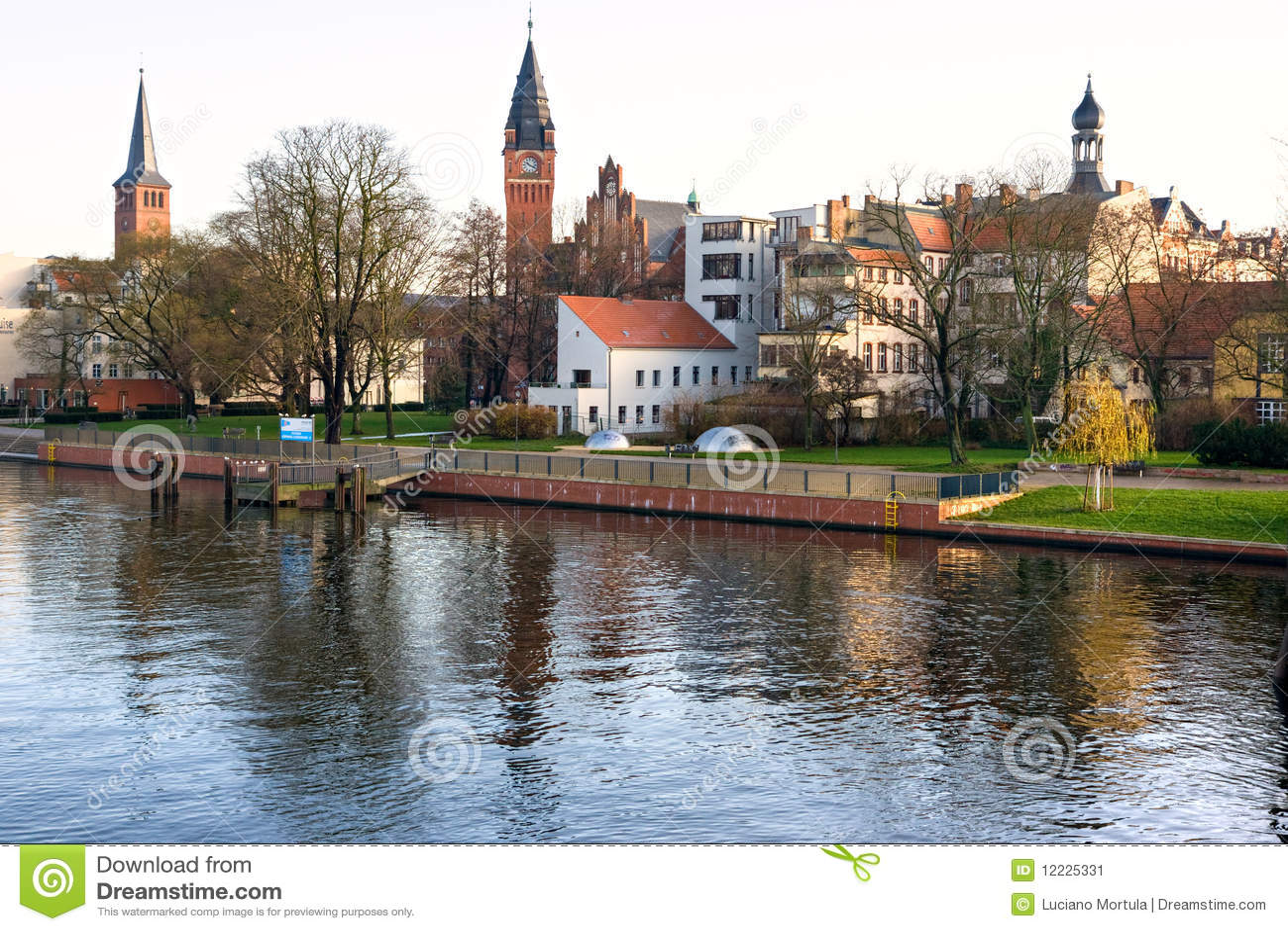 Kopenick, Berlin, Germany. Stock Image - Image: 12225331