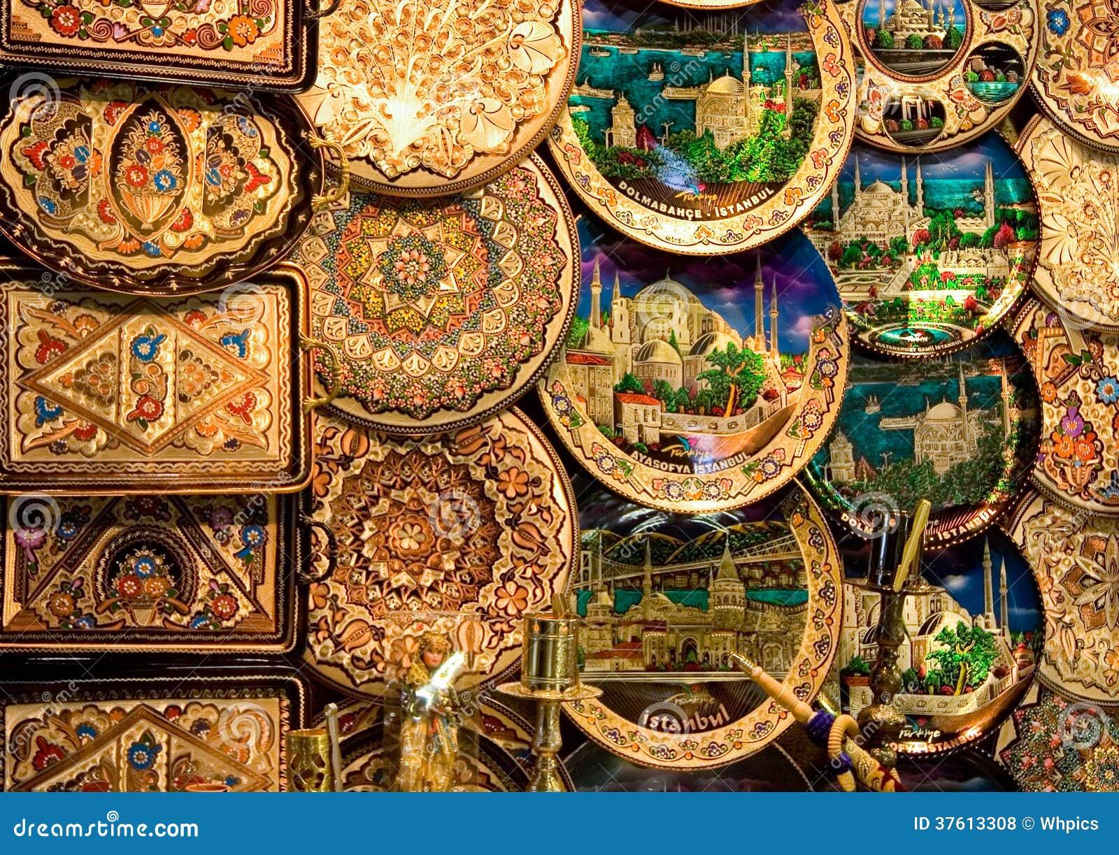 Koper decoratieve platen stock foto afbeelding bestaande uit voorwerp 37613308 - Decoratieve platen ...