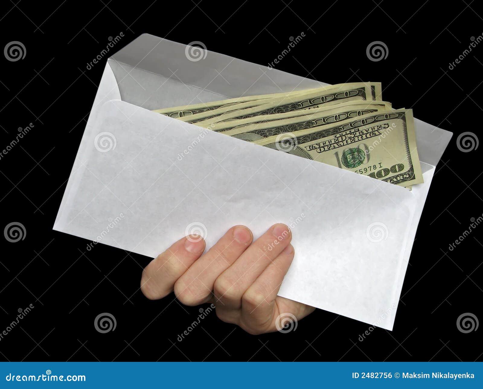 Koperta pieniądze