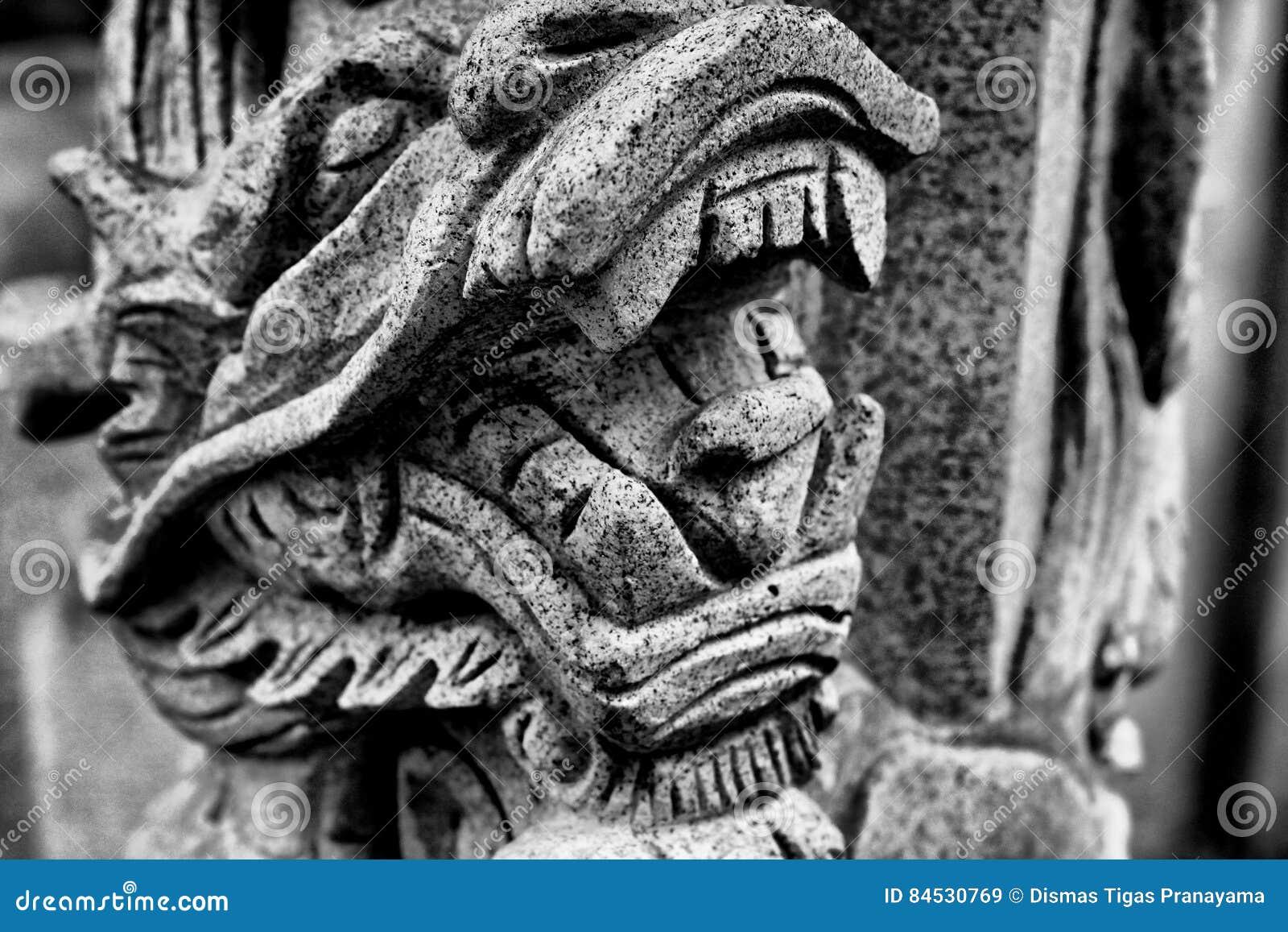 Kopf des chinesischen Drachen