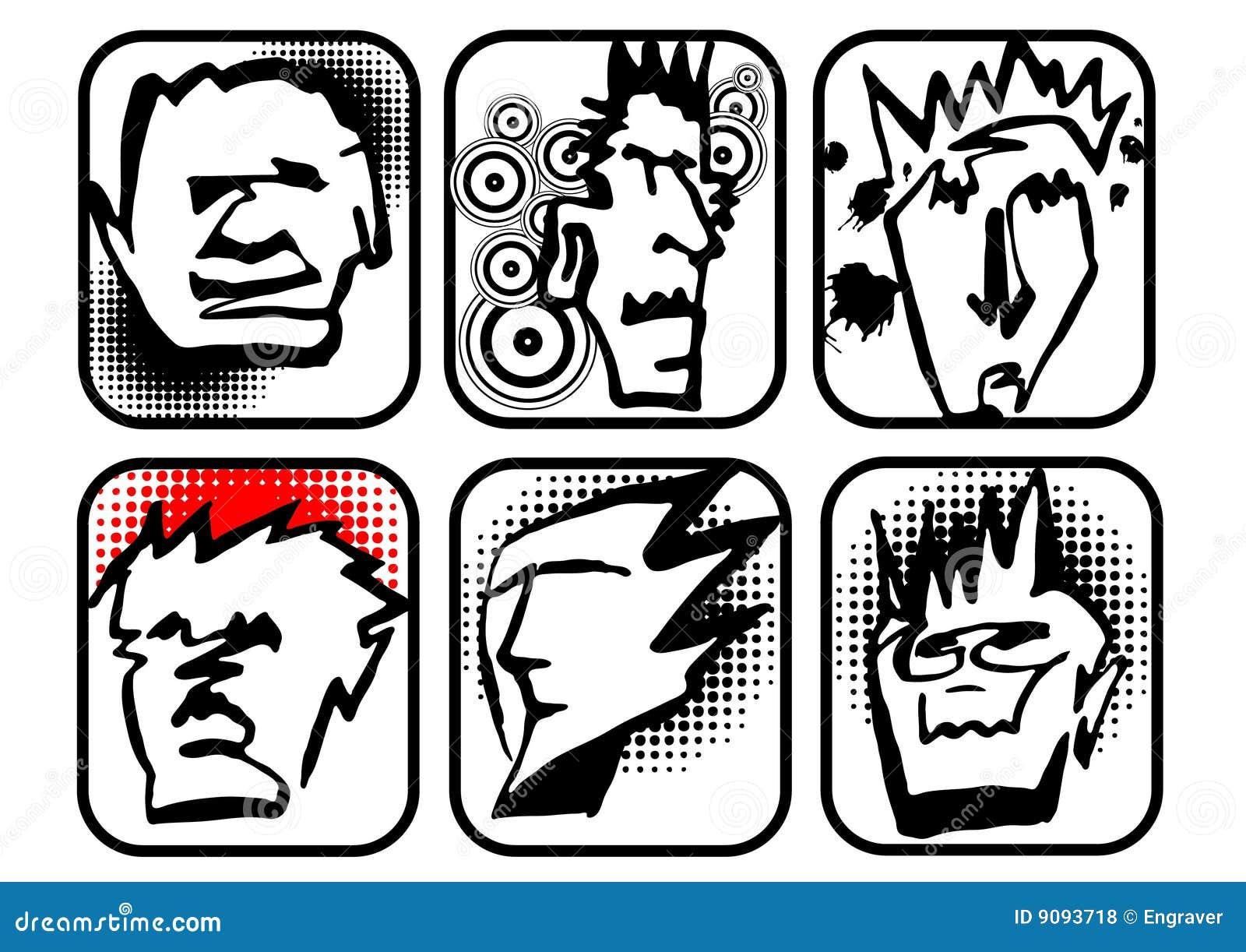 Kopf-Zeichen