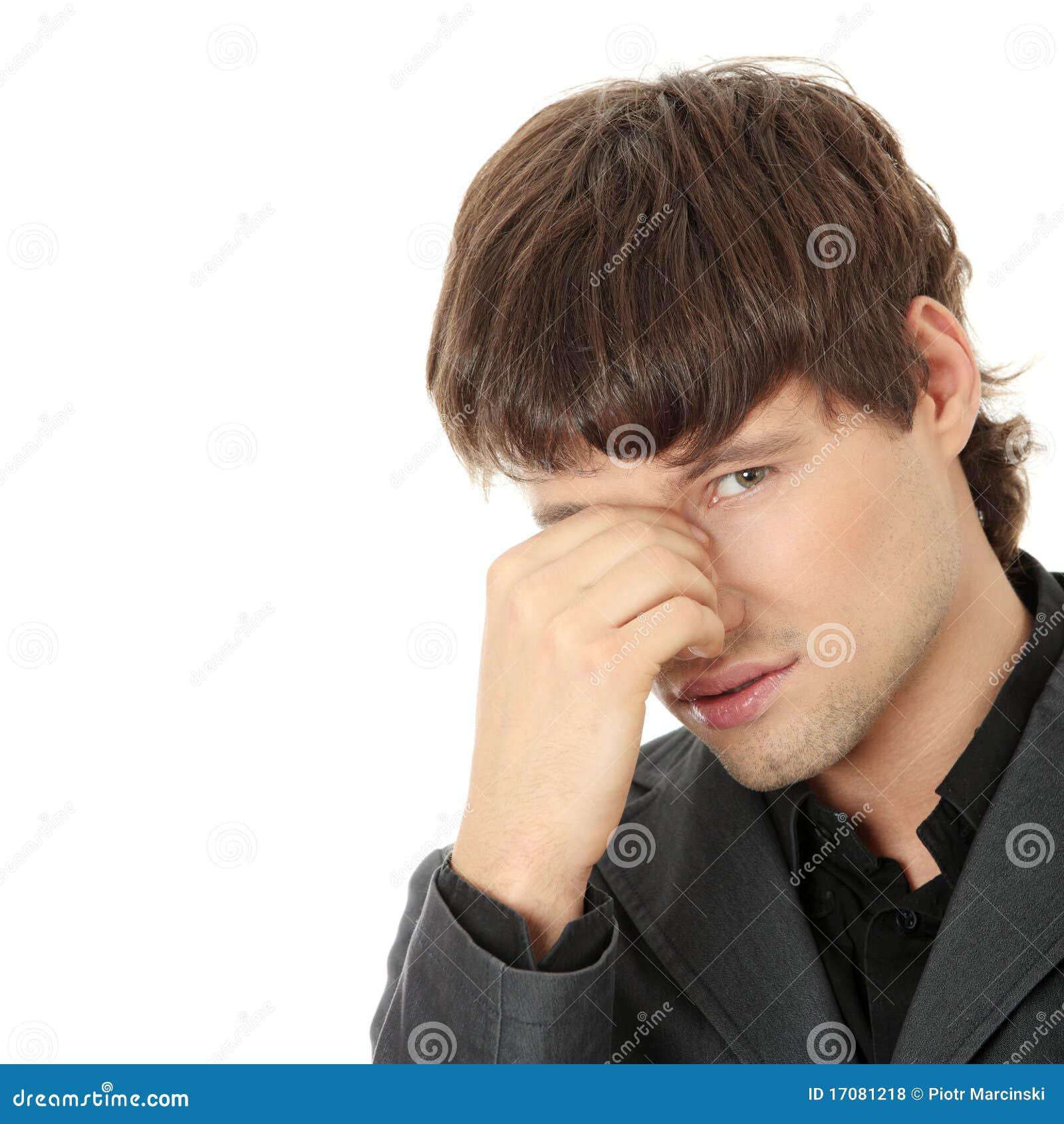 Kopfschmerzen oder Problem