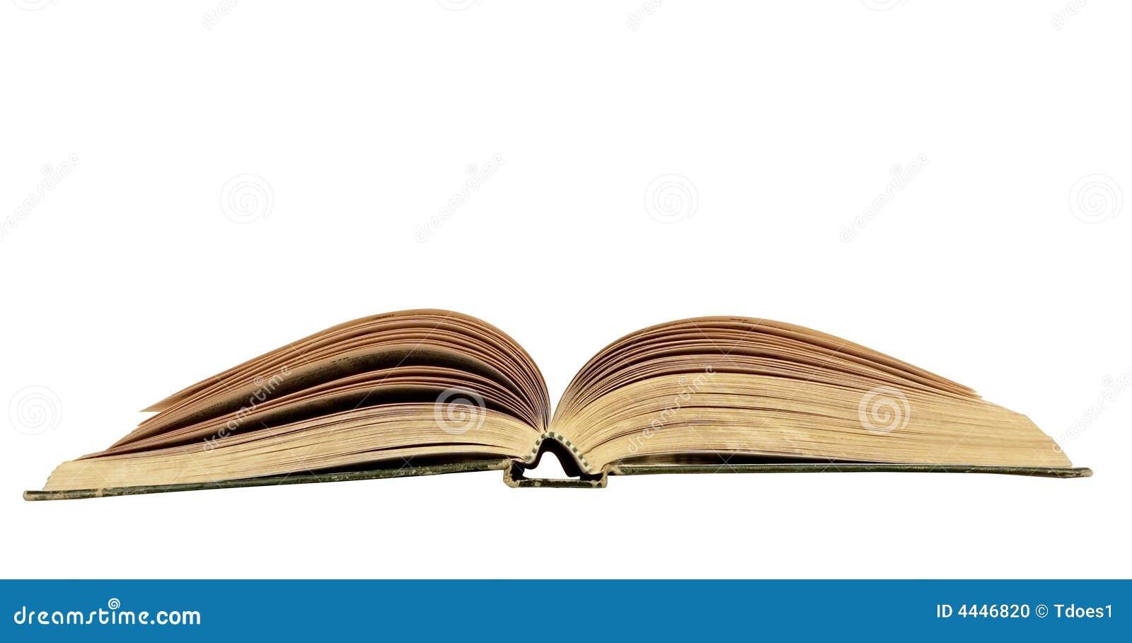 Kopię książki odseparowana otwartej przestrzeni