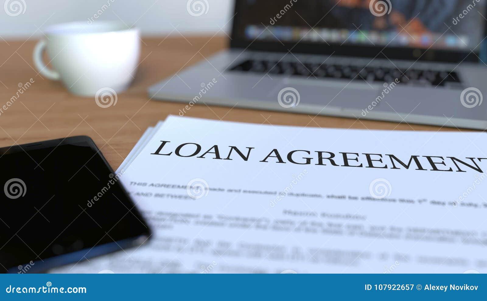 Kopia pożyczkowa zgoda na biurku świadczenia 3 d