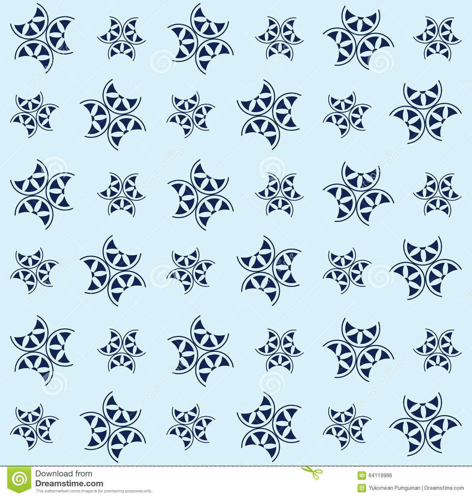 Kopieren sie japanische art blaue blume der for Tapete orientalisch blau