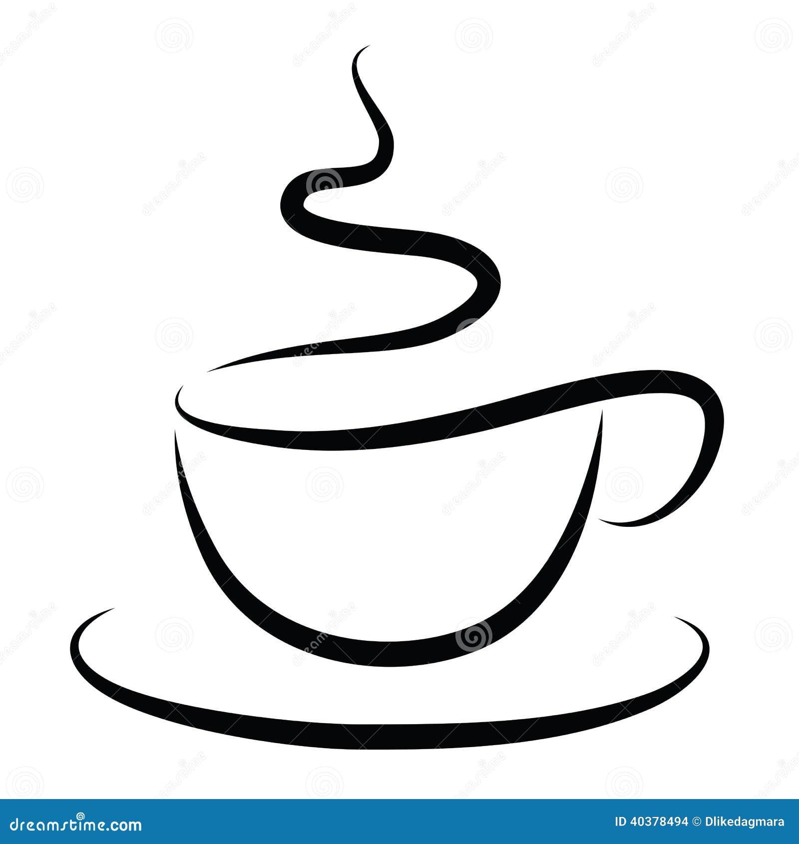 Kopp av varmt kaffe