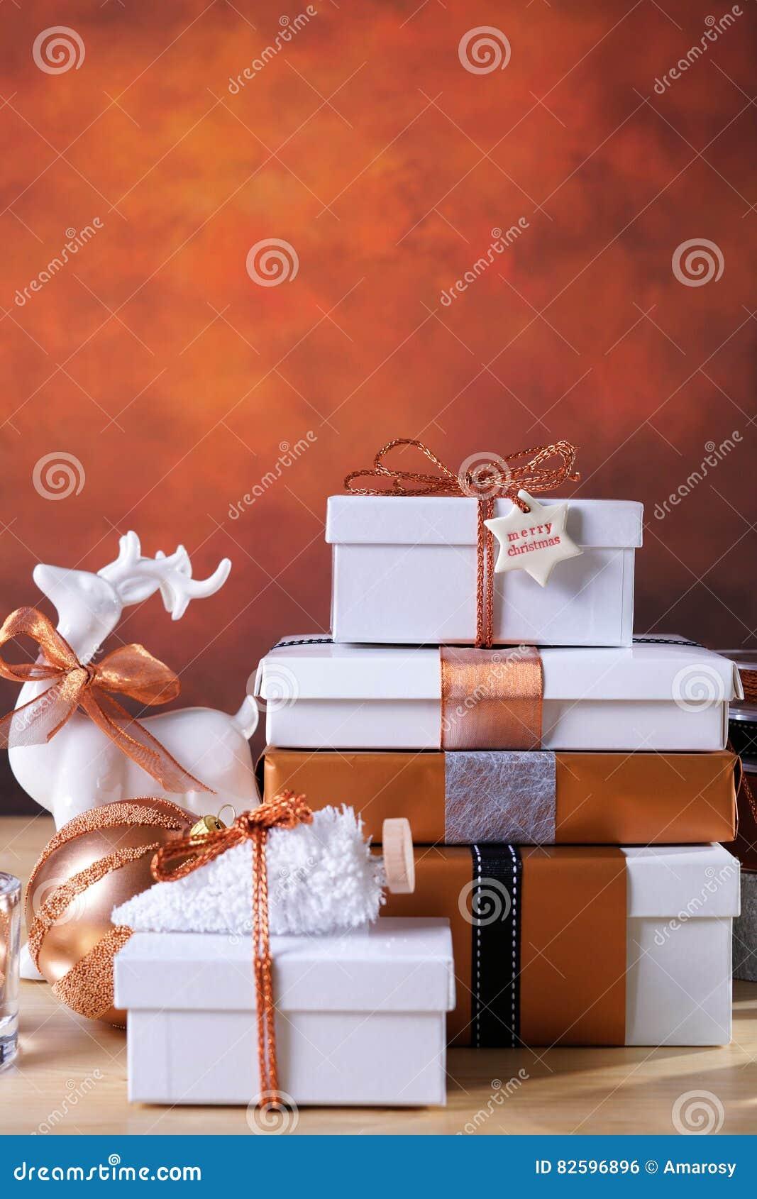 Kopparfestlig jul och vita gåvor