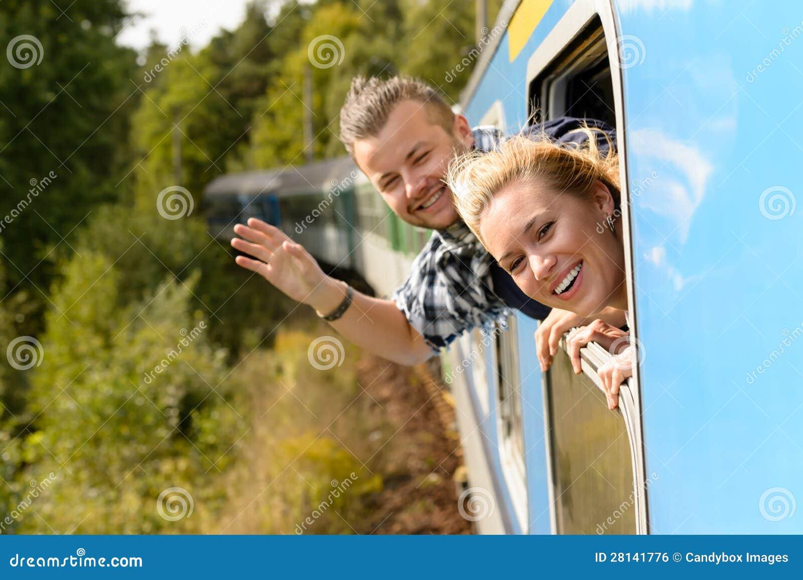 Koppla ihop att vinka med heads ut drevfönstret