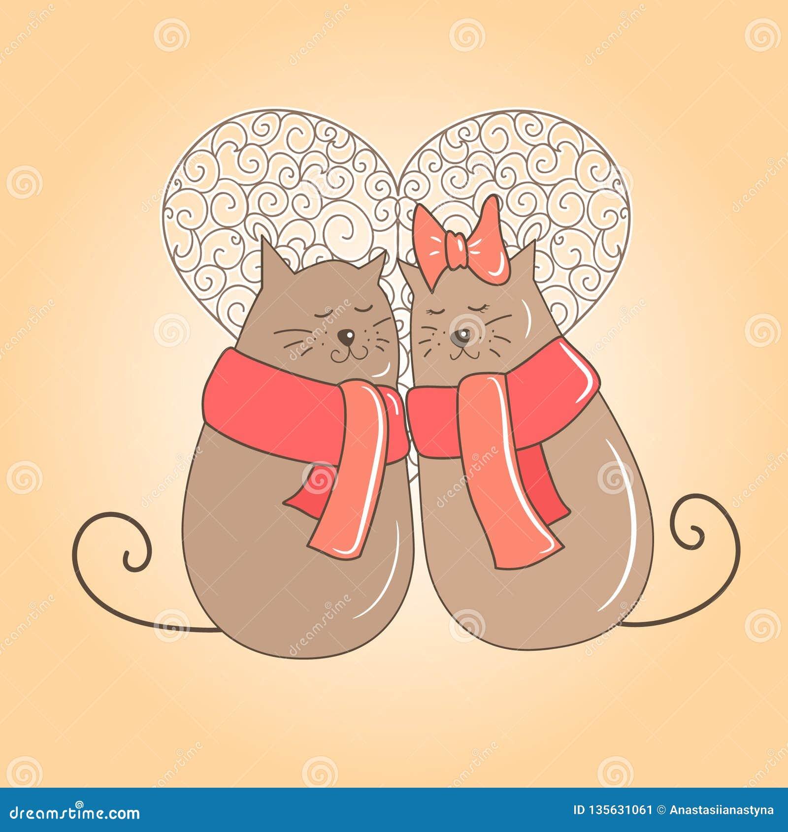 Koppla ihop av katter på ett datum