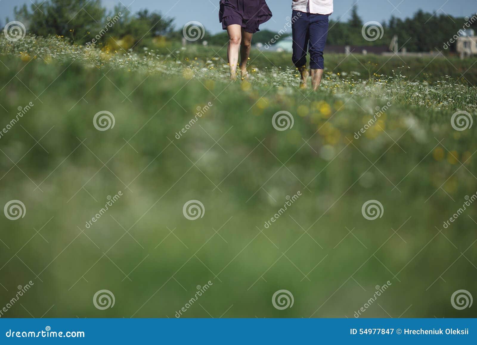 Koppla ihop spring i fält och ha gyckel