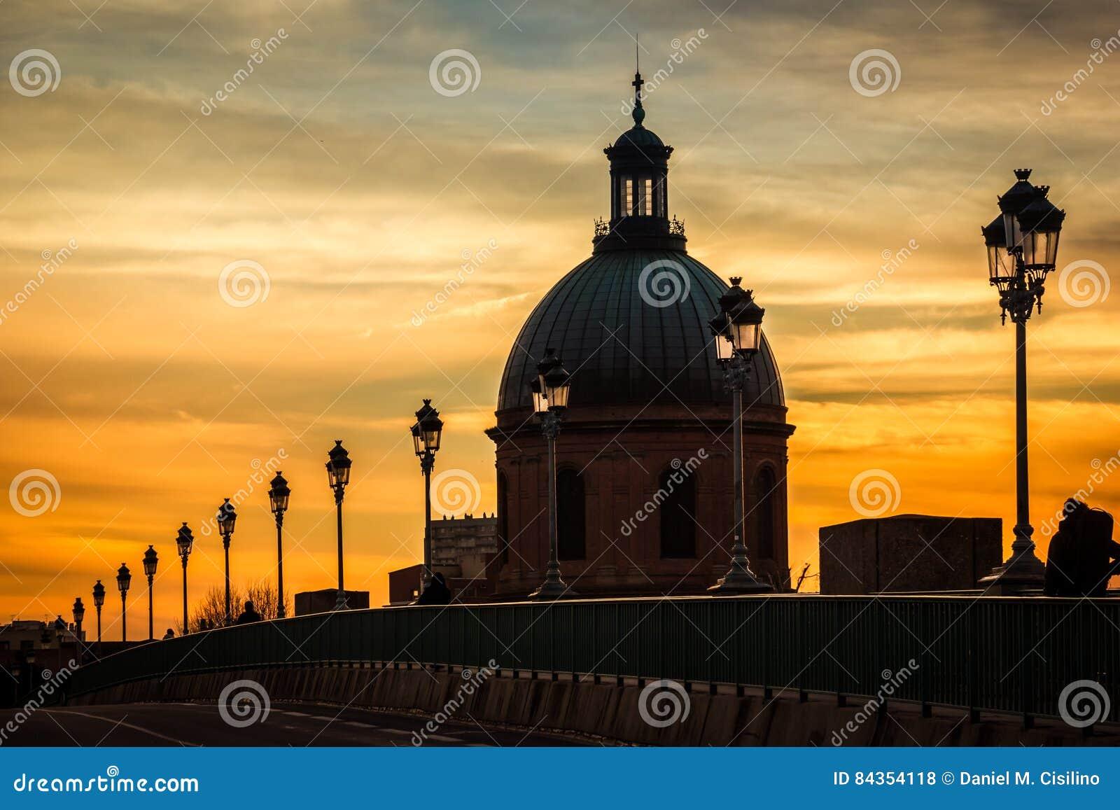 Kopuła Kaplica Szpital De Los Angeles Grób toulouse Francja
