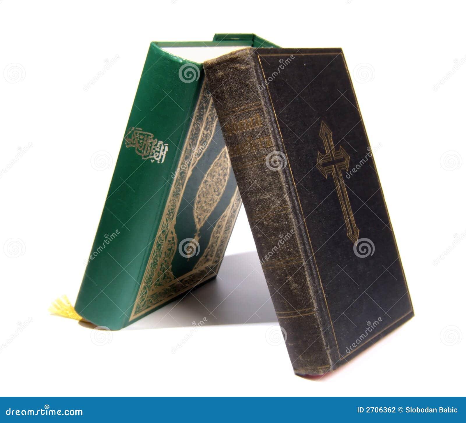 Koran Vs Bible Stock Photography - Image: 2706362
