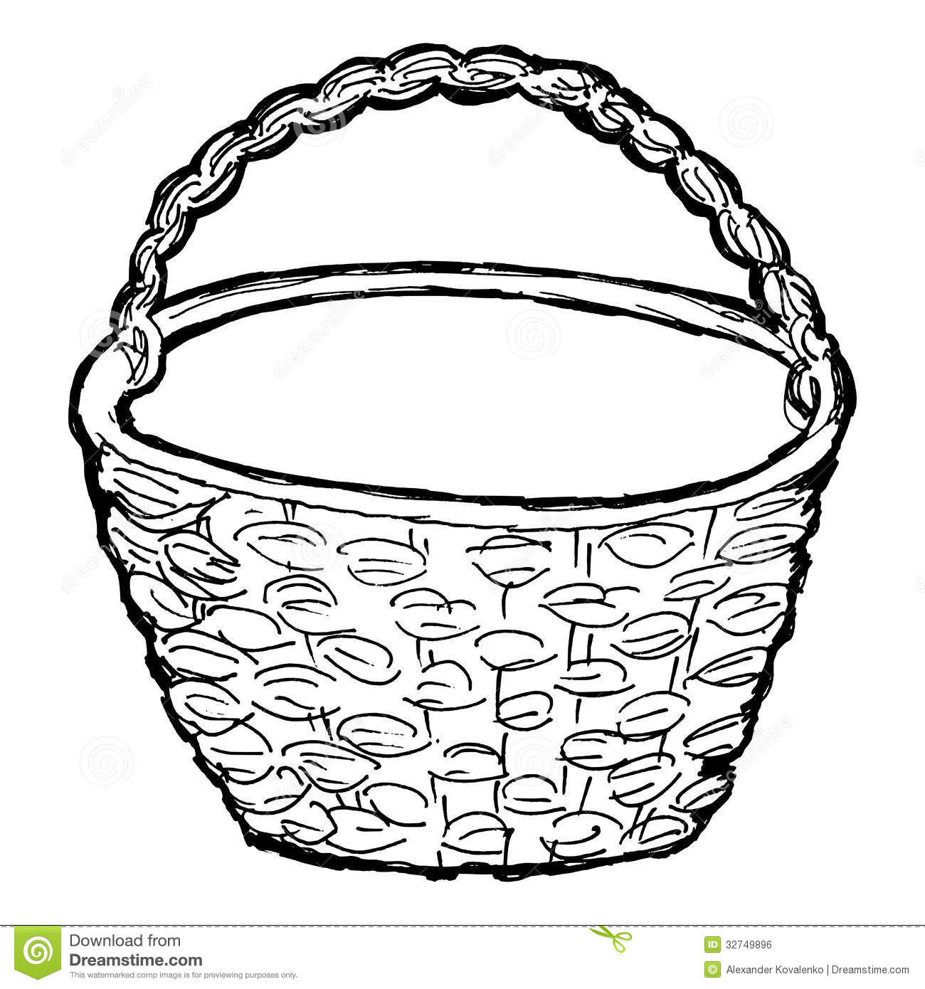 Picknick Coloring Page