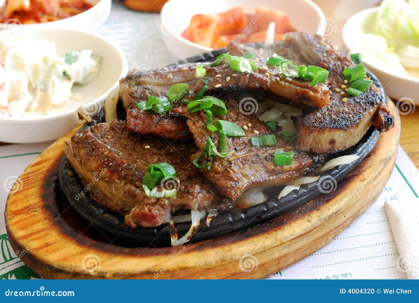 Koreańczyk grilla