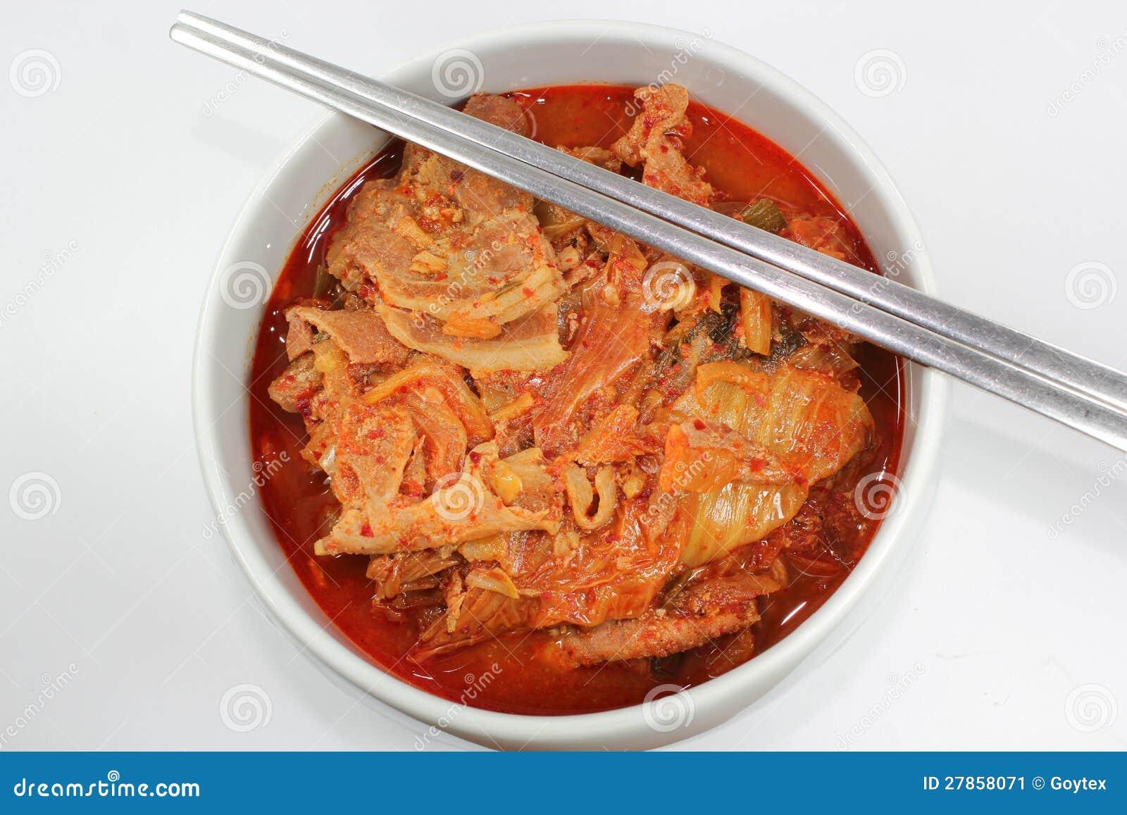 Korea kimchi chigae