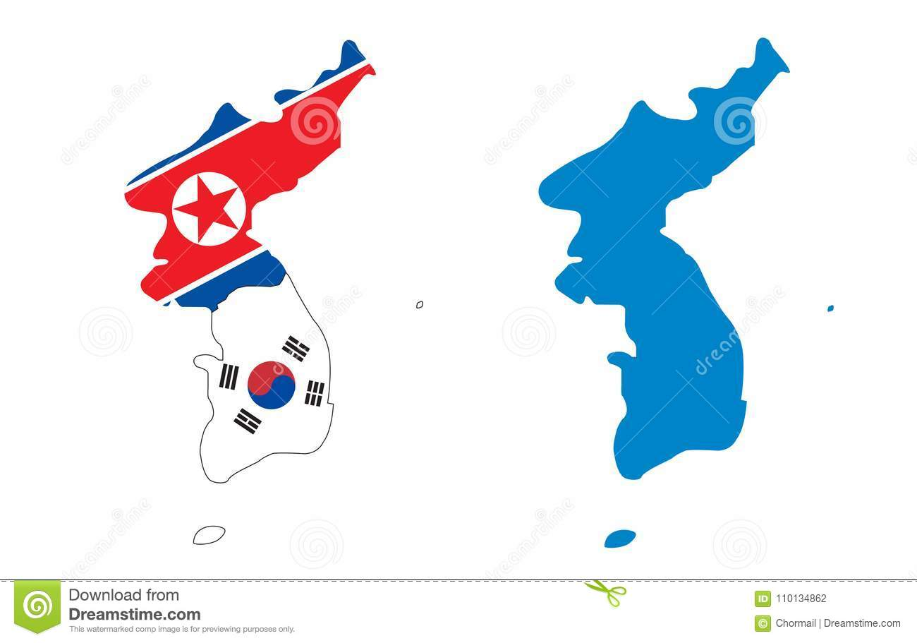 Korea Map With Flag North And South Stock Vector - Illustration of on japan world map, sumerian world map, slovak world map, taiwanese world map, khmer world map, bulgarian world map, american world map, malay world map, pizza world map, sami world map, tibetan world map, bohemian world map, welsh world map, igbo world map, magyar world map, urdu world map, mongol world map, group world map, croatian world map, videogame world map,