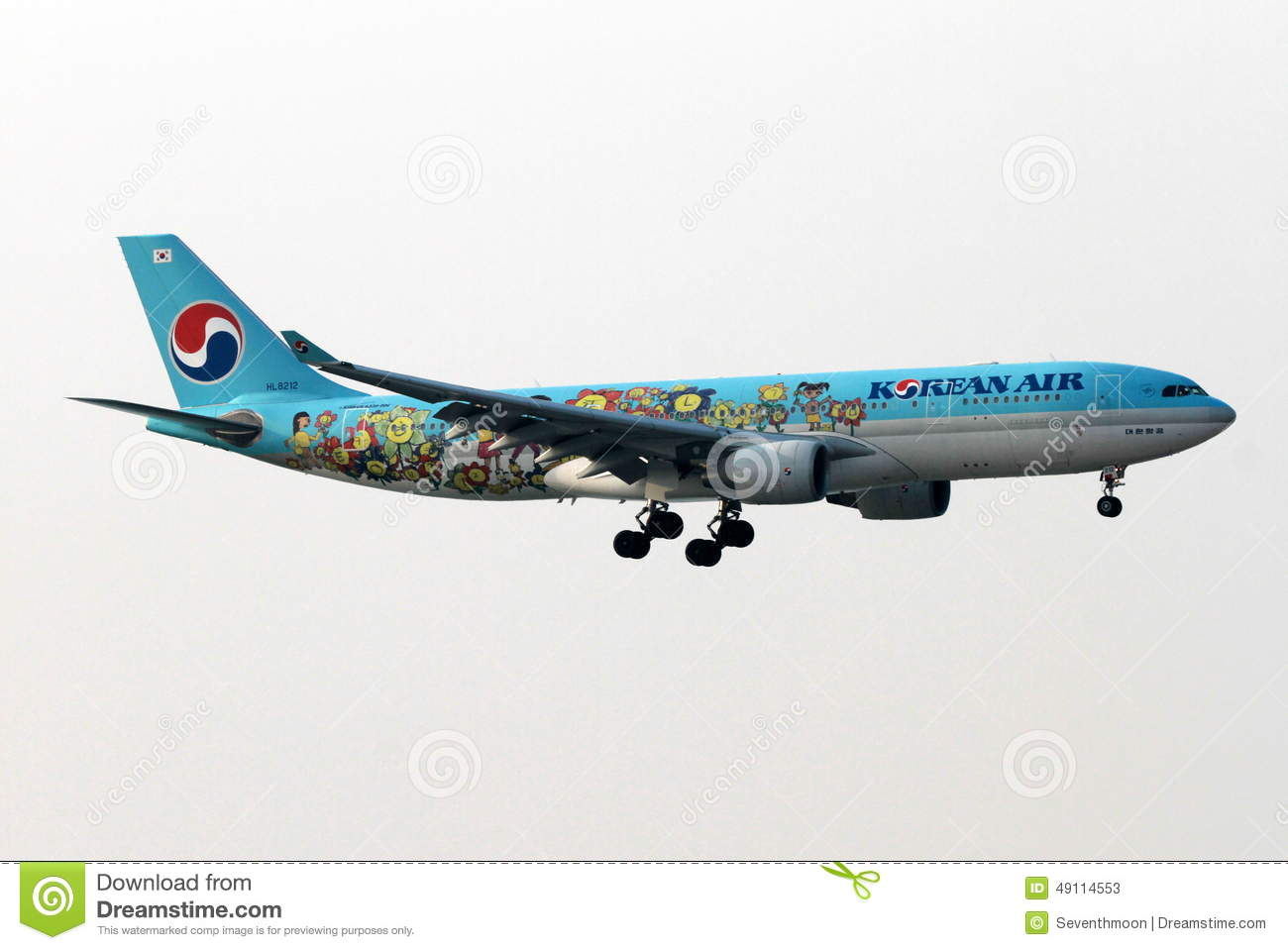 Korean Air flygplan