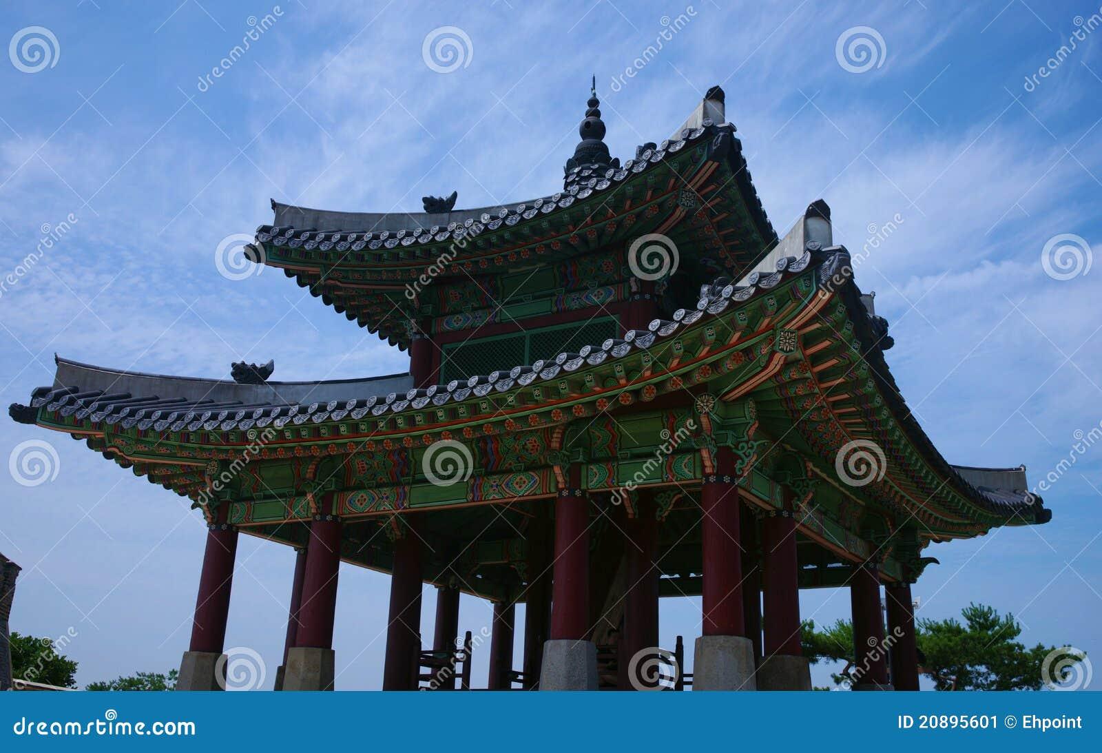 Korean Architecture Suwon South Korea
