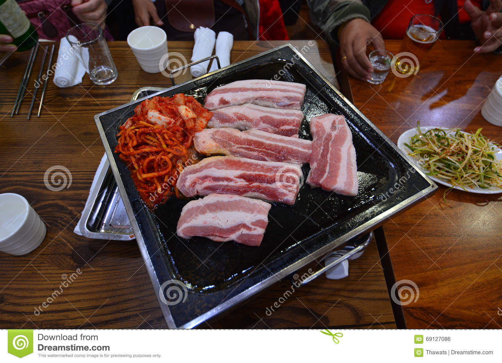 Bbq Belly Korean Pork