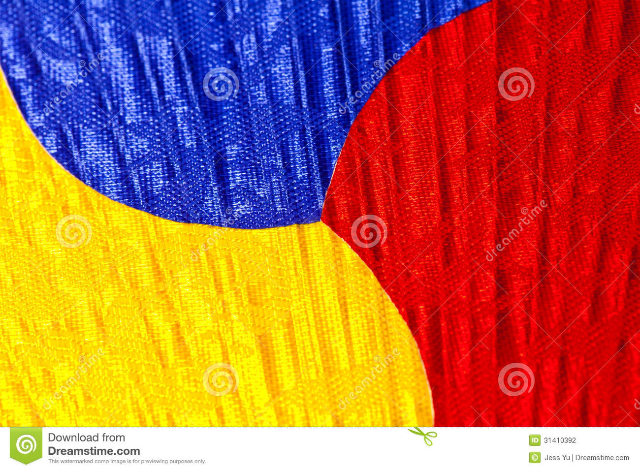 Korean Color Fan Background Stock Photography - Image: 31410392
