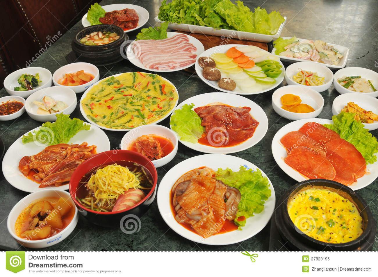 Korean cuisine stock photo image of cooking ethnic for About korean cuisine