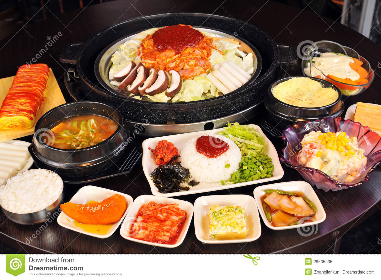 korean cuisine royalty free stock photo image 29635935