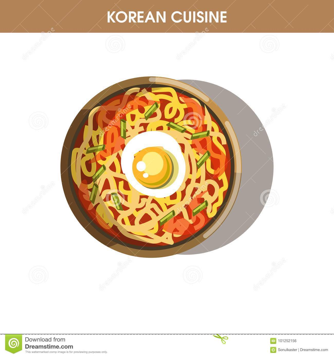 Korean cuisine ramen noodles traditional dish food vector icon for royalty free vector download korean cuisine ramen noodles traditional dish forumfinder Images
